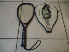 """Vintage Omega Racket Olympic #1 Racquet Ball with Cover 4"""""""
