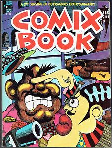 COMIX BOOK  2  NM-/9.2  -  High-grade underground magazine from 1974!