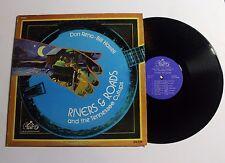 Don Reno/ Bill Harrell Rivers And Roads LP King Bluegrass Rec. KB-528 VG++ 10C