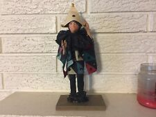 Antique Hand Made Figure Christmas Display Frankenmuth MI Court magician