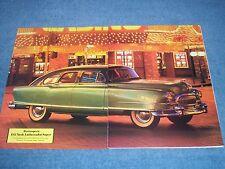 1951 Nash Ambassador Super Vitntage History Info Article ---From 1987---
