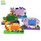 Foam Cartoon Po Frame for Kids Child DIY 3D Handmade Block Toy Past b49