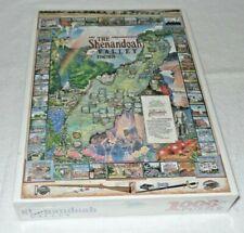 White Mountain Puzzle - Shenandoah Valley Virginia 1000pcs 1993 Sealed OOP
