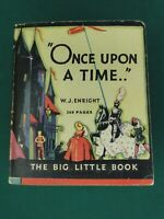 "THE BIG LITTLE  BOOK - ""ONCE UPON A TIME.."" #718 - 1933 - SOFTCOVER - HIGH GRADE"