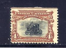 Us Stamps - #296 - Mh Hr - 4 cent Pan-American Expo Issue - Cv $70