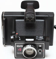 Vintage Polaroid Square Shooter 4 Instant Film Land Camera Made in USA 1970s