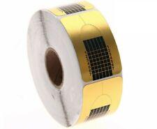 Roll Karten Gold 500 Stücke Nagel Art Für Wiederaufbau Dehnung Nägel