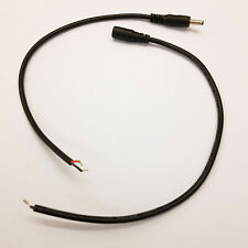 3.5mm x 1.35mm Dc Stecker 25cm Kordel Bloßes Verzinntes Enden -male / Buchse