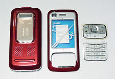 Red fascia facia housing cover faceplate case for Nokia 6110 6110N Red 0-9656