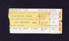 1975 The Osmonds Concert Ticket Stub Washington Park Chicago Donny Marie