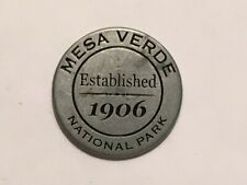 "Vintage Rare Mesa Verde National Park 1"" Flat Double-Sided Golf Marker"