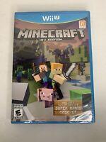 Minecraft: Wii U Edition (Nintendo Wii U, 2016) Brand New SEALED