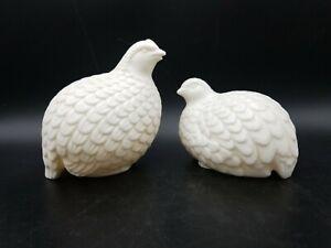 Norcrest White Quails vintage figurine
