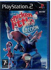 Chicken Little - As en Acción (PS2 Nuevo)