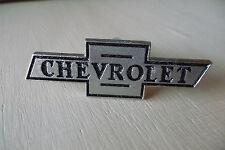 "3"" Chrome Chevy CHEVROLET Vintage Style Bowtie Garage Cabinet Drawer Pulls Knobs"