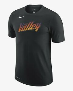 Brand New 2020/21 NBA Nike Phoenix Suns City Edition Essential Logo T-Shirt