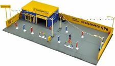 Tomicarama Vintage 04c 1/64 Used Car Store Accel 426 Miniature Car ABS Structure