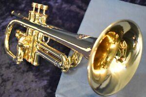 Custom Conn Key of C Flugelhorn/Trumpet w/ Case, Mpc