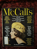 McCALL's Magazine February 1961 SUNNY FASHIONS  Babs H. Deal Faith Baldwin