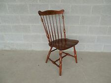 L. Hitchcock Fan Back Windsor Style Maple Harvest Stenciled Side Chair
