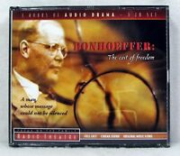 NEW Bonhoeffer The Cost of Freedom Audio 3 CD Unabridged Radio Theatre Set