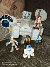 Galactic Heroes Imaginext Star Wars Millenium Falcon