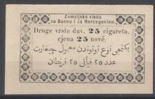 Bosnia tax on tobacco cigarettes revenue Austria Ottoman fiscal