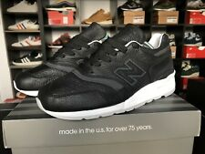 New Balance 997 Made In Usa Black Bison M997BSO UK10.5