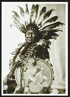 ⫸ 915 Postcard Rain-in-the-Face, Hunkpapa Sioux, 1902 Photo by Frank Fiske – NEW