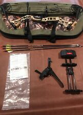 Diamond Infanite Edge Left Hand Bow With Case, Release, And Quiver
