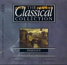DEBUSSY - SUITE BERGAMASQUE, JEUX, STRING QUARTET, SOIREE DANS GRENADE - CD 1995