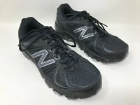 New! Men's New Balance 412v2 Trail Running Black/Silver/Gray MTE412B2 E12