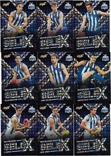 2018 Select Footy Stars NORTH MELBOURNE SeleX Team Set (9 Cards)