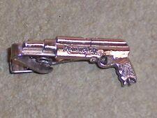 Vintage Remington Gun Pistol Tie Clasp Clip Bar