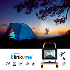 30W LED Flood Light USB Rechargeable Dimmable Flashing Lamp For Camping Hiking
