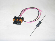 Alternator Connector Pigtail CS130D AD230 AD237 AD244 2 Wire Pink with Resistor