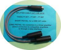Yaesu FT-818 FT-817 FT-857 FT-897 CAT / LIN splitter (also CATDisplay + linear)