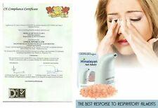 Salt Inhaler Himalayan Pure Crystal Rock Air Cleaner 200Gram Asthma Allergies