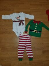 Baby Christmas Clothes Unisex 6 To 9 Months