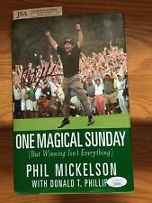 New listing Phil Mickelson Book Autographed w/ Cerificate