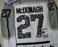 Ryan McDonagh Signed 2017 All-Star Jersey w JSA COA #U44115 NY Rangers Lightning