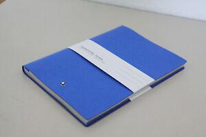 MONTBLANC A5 Luxus Notizbuch Notebook 146 hell blau Fine Stationery 21x15cm NEU