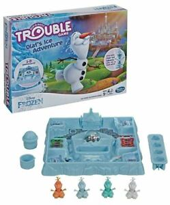 Frozen Olaf's in Trouble Game New Hasbro And Disney Board Game! Fun For All