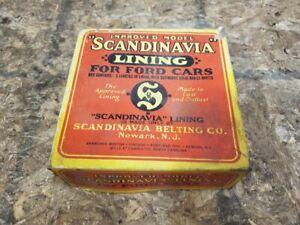 1909 - 1925  Ford Model T Scandinavia Brake Lining For Ford Cars