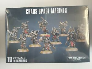 Warhammer 40K - Chaos Space Marines - GW-43-06 new & sealed, free postage!
