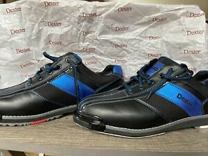Men/'s 3G TOUR ULTRA RH Bowling Shoes BLUE//BLACK//METALLIC NIB Size 10M