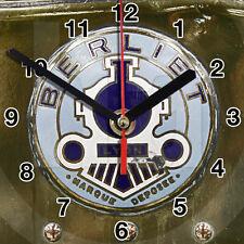 HORLOGE MURALE Logo ANCIEN BERLIET SUR TOLE -01M