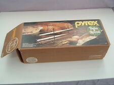 Vintage Pyrex bake a round by corning french tube  bread maker