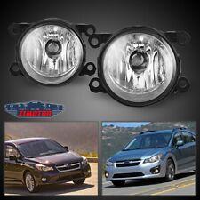Fit Subaru Impreza 12-18 Clear Lens Pair Bumper Fog Light Lamp OE Replacement