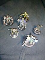 Heroclix 6 piece lot Robot/Mech/Steam Heroclix Figures